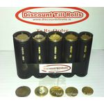 5 slot Euro coin dispenser .. www.DiscountTillRolls.ie