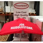 Joe Huddlestone Rails Bookmakers Square Racecourse Rails Umbrella Extra Strong Steel Tube Ribs ... www.DiscountTillRolls.ie