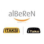 Alberen CR01 Taxi Receipt Rolls .. www.DiscountTillRolls.ie